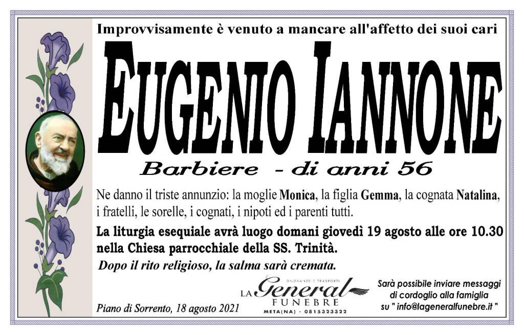 Piano di Sorrento, ci lascia improvvisamente il 56enne Eugenio Iannone (barbiere)