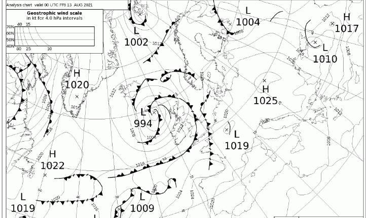 Piano di Sorrento, il meteo del Nino Bixio graduale e leggera diminuzione delle temperature