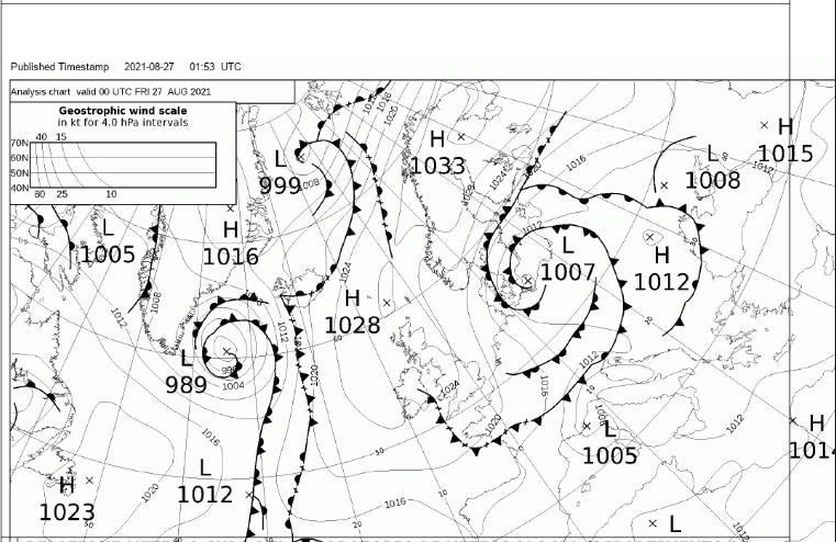 Piano di Sorrento, le previsioni meteo del Nino Bixio: da stanotte aumento della nuvolosità e deboli piogge