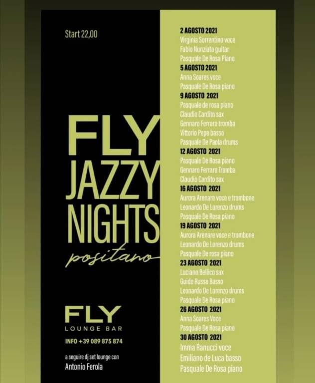 Positano: dal 2 al 30 agosto le Jazzy Nights al Fly Lounge Bar