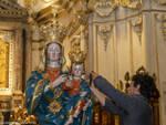 Positano, il dono 'venuto dal mare' di Daniele Esposito alla Madonna ed alla Comunità