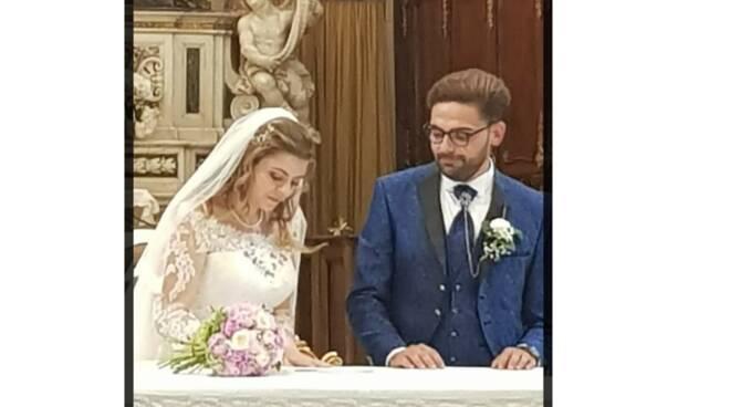 Positano/ Tramonti, auguri agli sposi Isabel Casola e Kekko Ferrara
