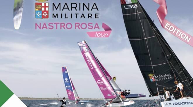 Prima edizione del Marina Militare Nastro Rosa tour- Il giro dell'Italia a vela
