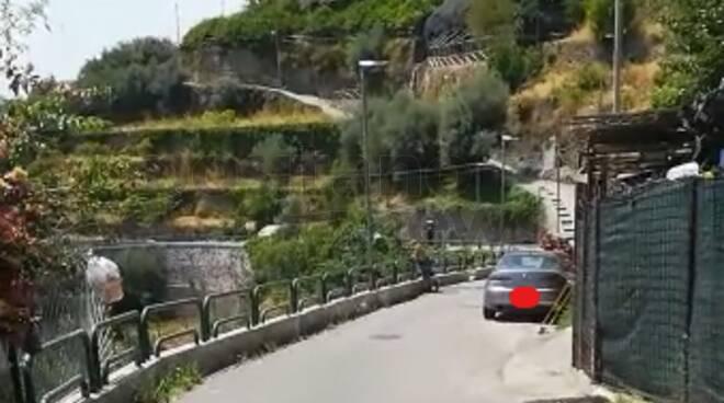 Ravello: ancora un guasto alla condotta idrica di Via Zia Marta