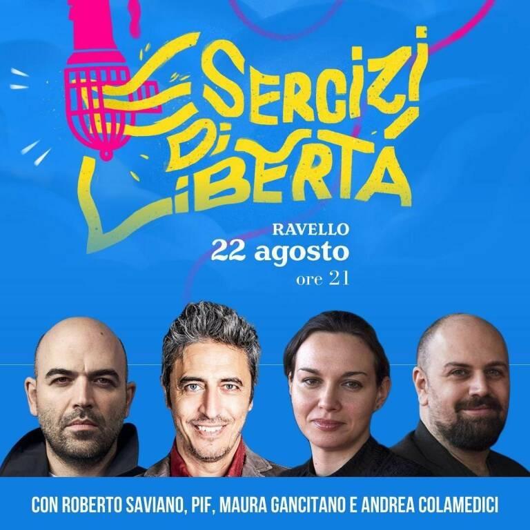 """Roberto Saviano ospite a Ravello: """"Non esiste che un festival molto importante cancelli un ospite non gradito"""""""