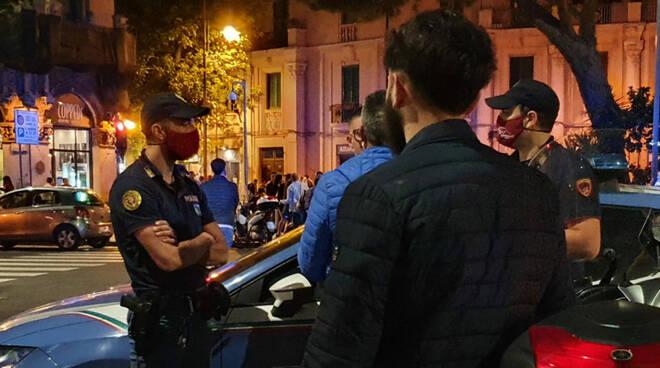 Salerno, continuano i servizi interforze per garantire una movida sicura