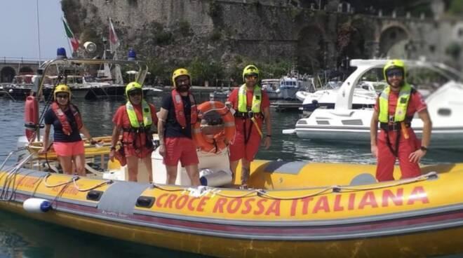 sorveglianza anti incendio cri costiera amalfitana