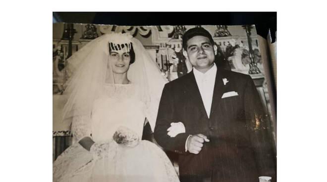 Sposi così, proprio belli sì: 60° anniversario Andrea Imbembo e Orsani Onorina