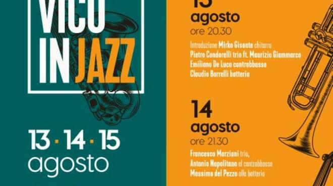 """Vico Equense, appuntamento con """"Vico in jazz"""". Chiusura affidata a Pasquale De Rosa del """"Music on the Rocks"""" di Positano"""
