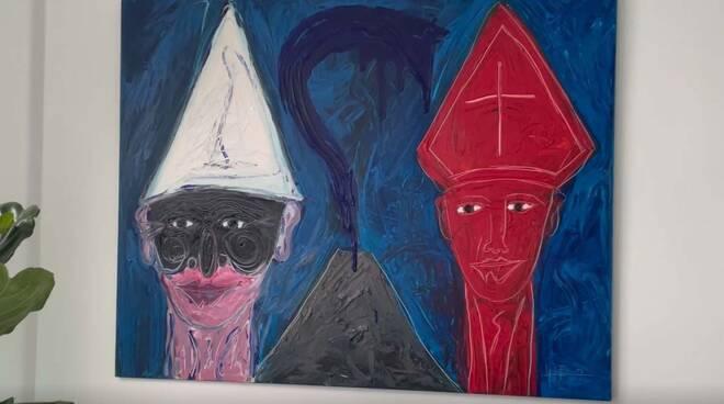 """""""Vulcano cuore"""", successo per l'esposizione delle opere di Lello Esposito all'Hotel Le Agavi di Positano"""