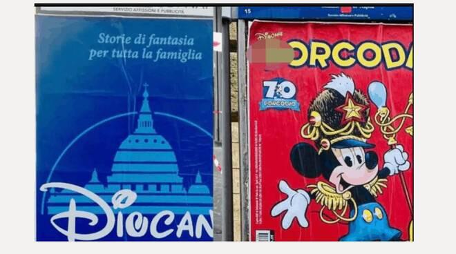 A Napoli finti manifesti elettorali con bestemmie. Uno scherzo o una provocazione?