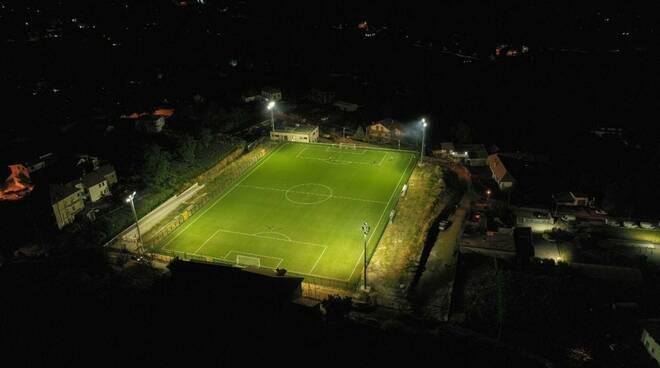 Agerola, tutto pronto per l'inaugurazione del nuovo campo sportivo prevista per il 2 settembre
