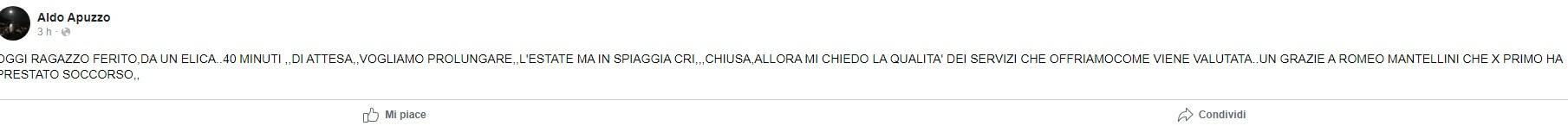 Aldo Apuzzo parla di Mantellini