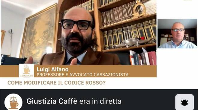 Alfano avvocato a Giustizia Caffè
