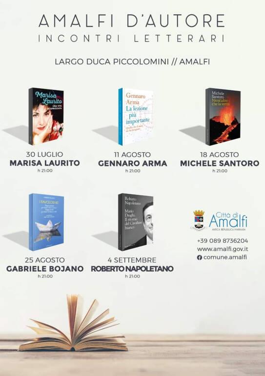 """""""Amalfi d'Autore. Incontri letterari"""": Roberto Napoletano autore di """"Mario Draghi. Il ritorno del Cavaliere bianco"""""""