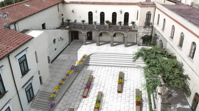 Amalfi, il progetto di riqualificazione di Piazza Municipio