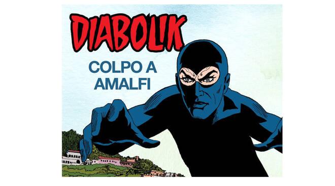 """Amalfi, presentazione dell'albo speciale di """"Diabolik"""" ambientato nell'antica Repubblica Marinara"""