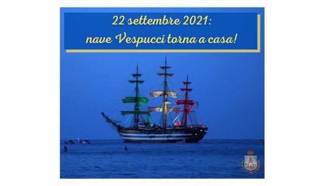 Anticipata al 22 settembre la tappa della nave Amerigo Vespucci a Castellammare di Stabia