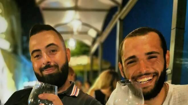 Antonino Coppola e il fratello Niko