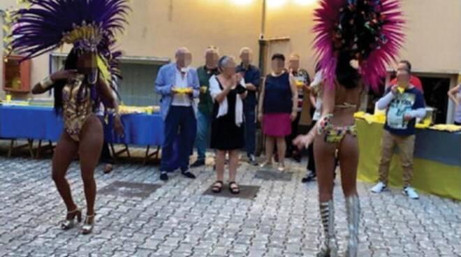 Bufera a Cava de' Tirreni: festa brasiliana nella sede dell'Asl
