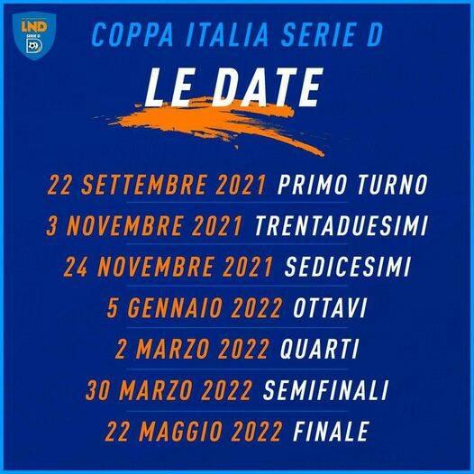 calendario coppa italia sorrento