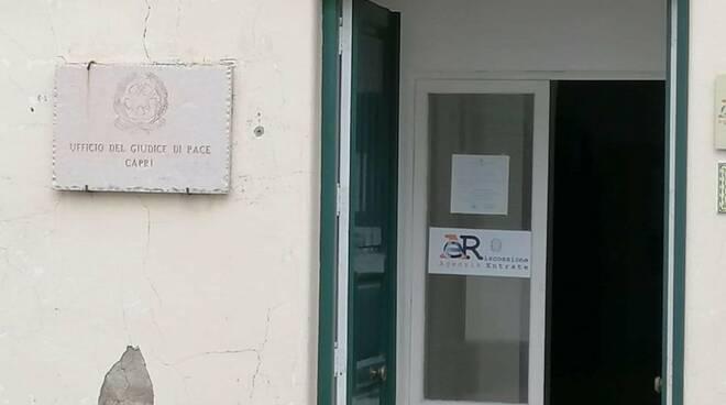 Capri, dal primo ottobre riapre l'Ufficio del Giudice di Pace