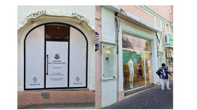 Capri, il disappunto dell'imprenditore Silvio Staiano sulla chiusura dei negozi di Moncler e Zimmerman