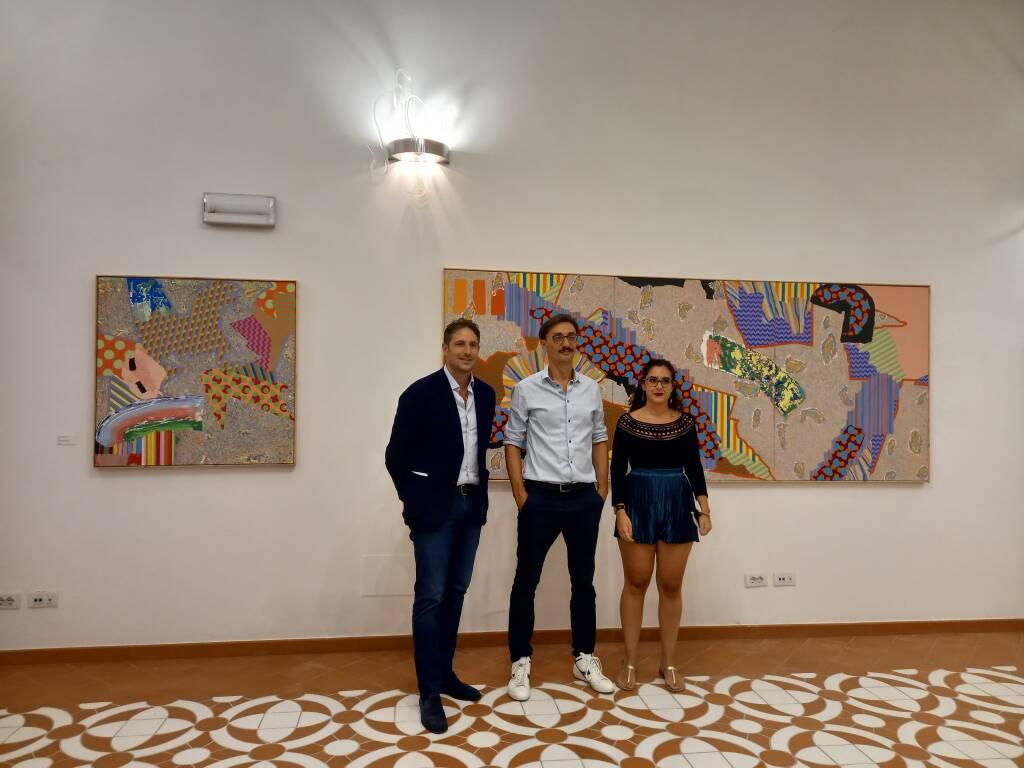 Rosario Memoli in mostra nella pinacoteca di Positano
