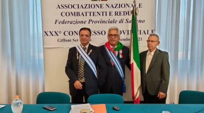 Al XXX° Congresso A.N.C.R. Provinciale della Federazione di Salerno il Comune di Sanza riconosciuto con il Presidente eletto a Consigliere