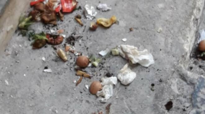 Amalfi, situazione incresciosa: rifiuti sparsi ovunque