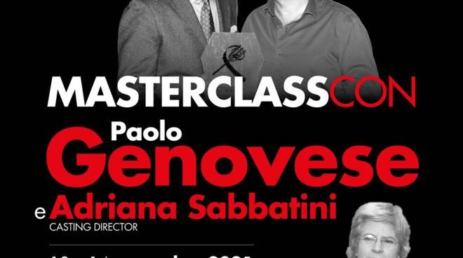 A Cinecittà l\'attesa Masterclass Cinecibo con Paolo Genovese e la casting director Adriana Sabbatini