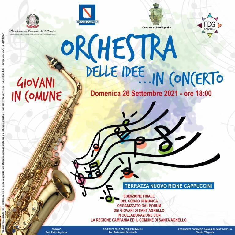 Orchestra delle idee in concerto! Domenica 26 Settembre Terrazza Marinella
