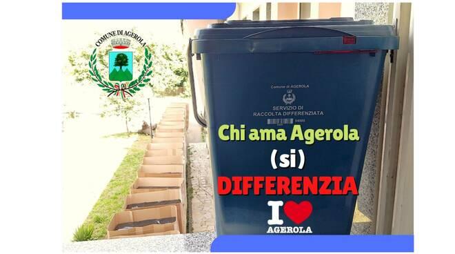 Chi ama Agerola (si) differenzia, arrivano i contenitori domestici dotati di microchip RFID