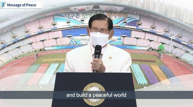 Conferenza mondiale sulla pace che chiede un'azione concertata per la pace sostenibile nella nuova era normale