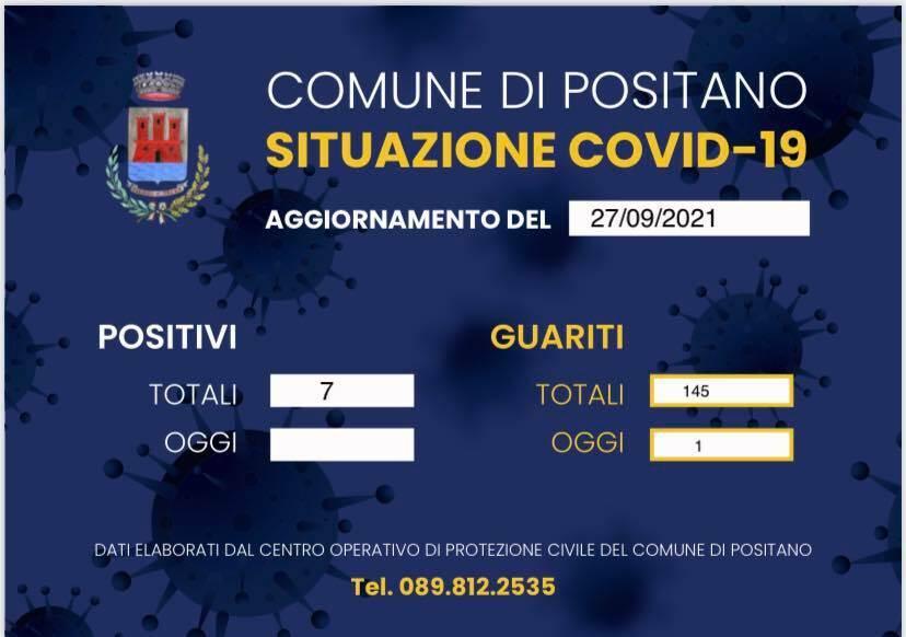Coronavirus: una guarigione a Positano, sono 7 i positivi attuali