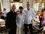 Dries Mertens ad Amalfi per festeggiare il compleanno della moglie