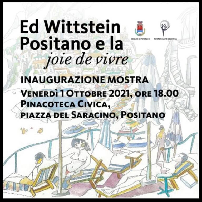 Ed Wittstein, Positano e la joie de vivre
