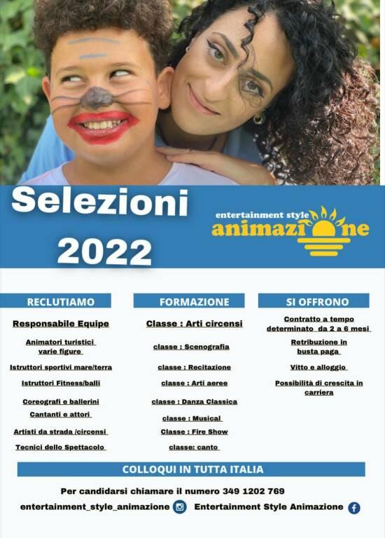 Entertainment Style Animazione, la prima azienda di intrattenimento turistico in Penisola Sorrentina apre i casting!