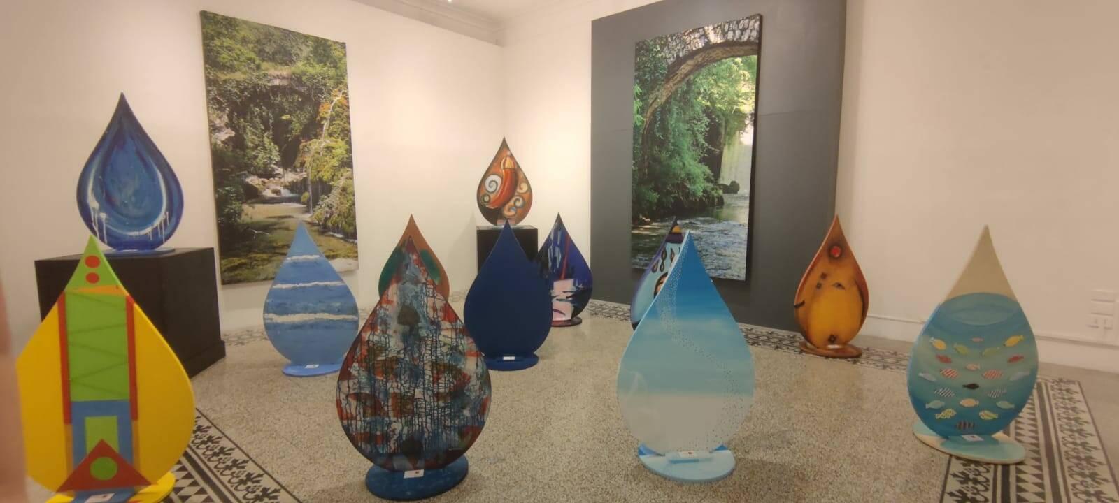 """""""Gocce d'Acqua"""": prorogata l'esposizione della mostra a Sorrento fino al 26 settembre"""