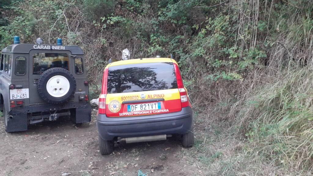 Il Soccorso Alpino e Speleologico della Campania (CNSAS) allertato per una persona dispersa a Monteforte Irpino
