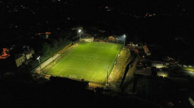 Inaugurazione Campo da calcio Agerola