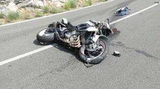 Incidente Moto SS163 Piano di Sorrento verso Positano