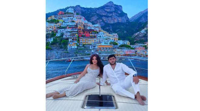La make up artist russa Goar Avetisyan sceglie Positano per le sue nozze