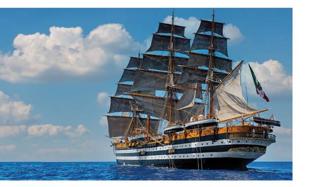 La nave scuola Amerigo Vespucci il 21 settembre sarà finalmente a Vico Equense