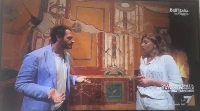 """La Villa Romana di Positano protagonista di """"Bell'Italia"""""""