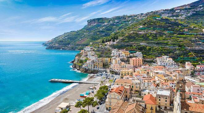 Minori è la terza località della Campania più fotografata dai turisti nell'estate 2021