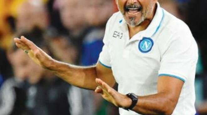 Napoli-Spartak Mosca ore 18.45
