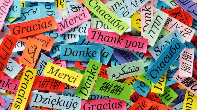 Oggi è la Giornata europea delle lingue