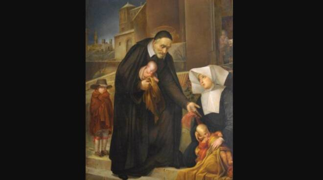 Oggi la Chiesa festeggia San Vincenzo de' Paoli