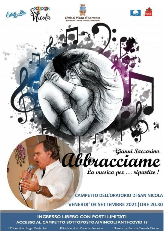 Piano di Sorrento, il 3 settembre la voce di Gianni Iaccarino nell'Oratorio di San Nicola